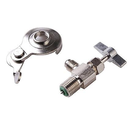 Universal puede herramienta de abridor de botella para R12 R134 a refrigerante válvula de dispensador