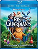 DVD : Rise of the Guardians (Two-Disc Combo: Blu-ray +DVD +Digital HD)