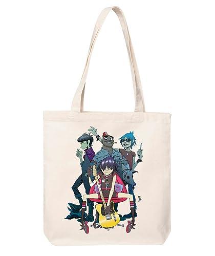 gorillaz tote bag gorillaz print tote bag gorillaz shopping bag