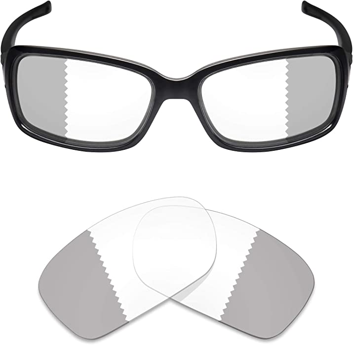0d8faa40a7c20 Mryok UV400 Replacement Lenses for Oakley Dispute - Eclipse Grey  Photochromic
