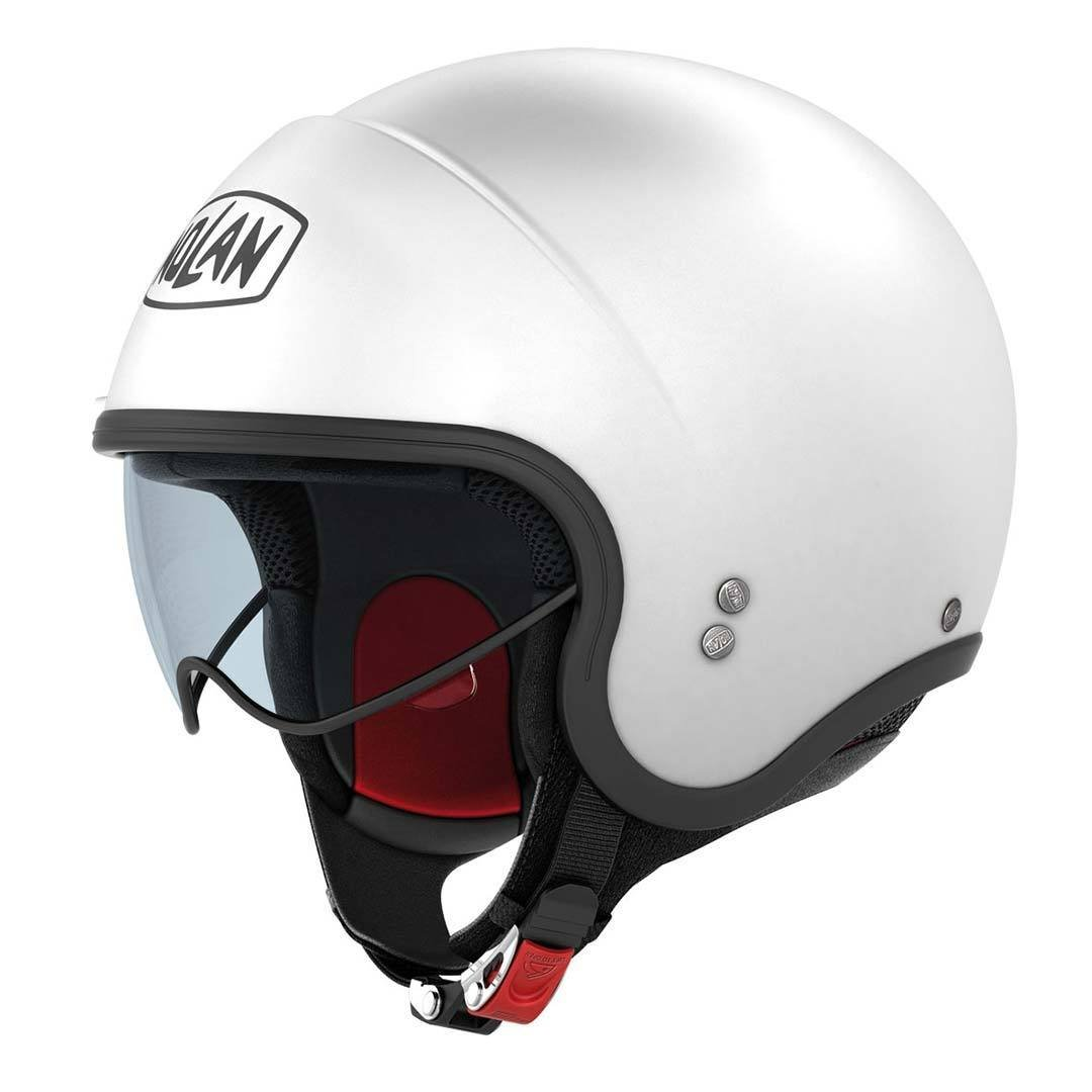 55//56 Nolan N21/Classic Jet Helmet White Size S