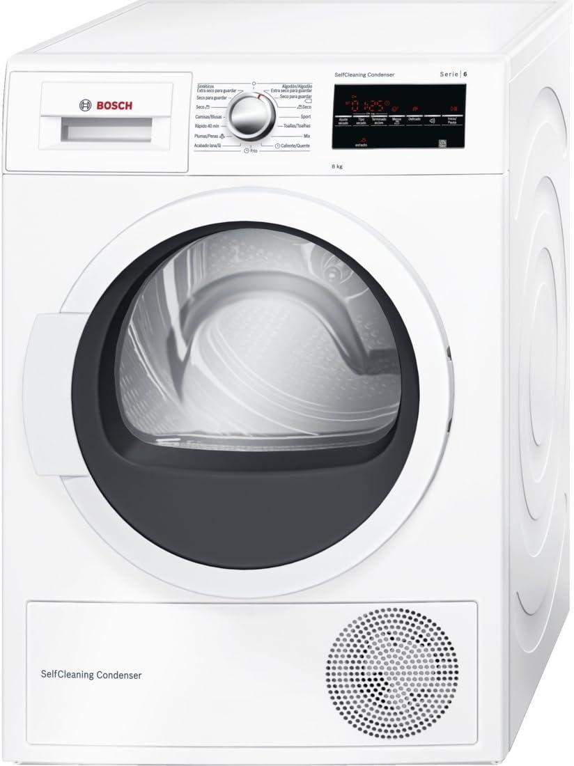 Bosch Serie 6 WTG85230EE Independiente Carga frontal 8kg A++ Color ...