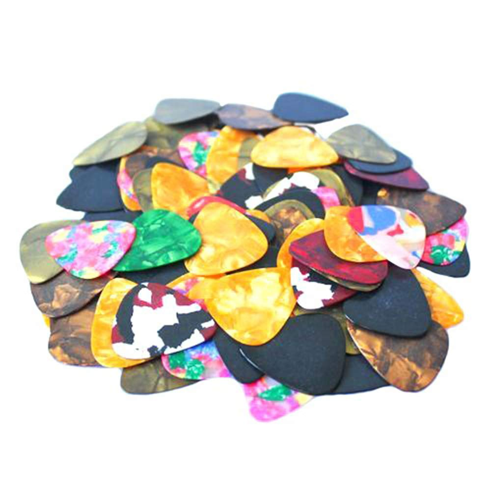 Potelin 20pcs Thin Guitar Picks 0.46mm / 0.71mm (0.46mm)