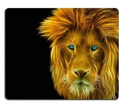 Yanteng Alfombrilla de ratón de Tony Alfombrilla de Goma Natural Vista Detallada de la Cabeza de