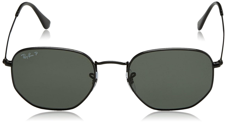 Óculos de Sol Ray Ban Hexagonal Polarizado RB3548N 002 58-54   Amazon.com.br  Amazon Moda f67f888b1a