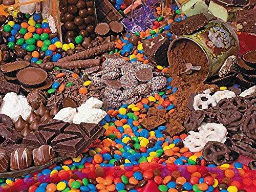 Chocolate Sensation 400 Piece Family Jigsaw Puzzle