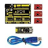 keyestudio CNC kit / CNC Shield V4.0 + CH340 NANO for Arduino+3pcs a4988 driver / GRBL compatible
