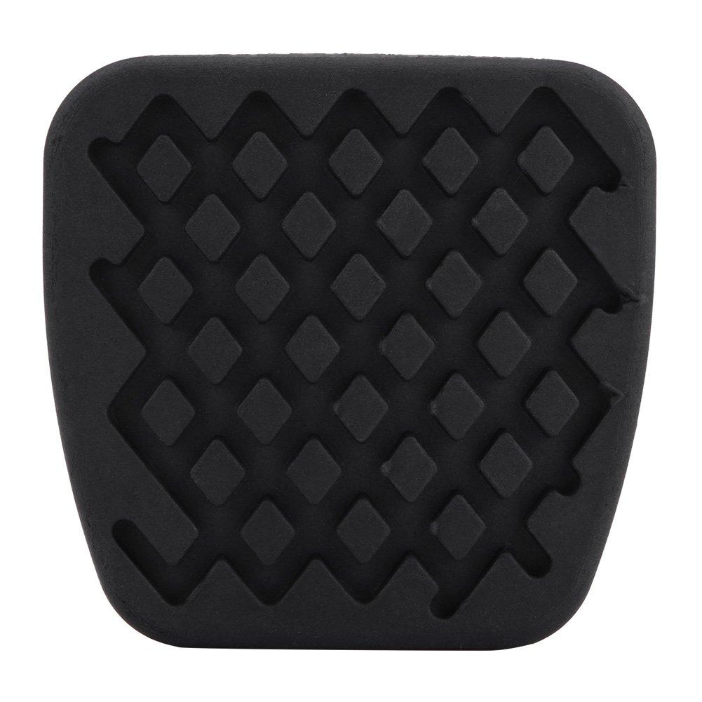 Pastillas de pedal de embrague de freno, 1 par de funda de goma de la almohadilla del pedal del embrague de freno para 46545-SA5-000, ...