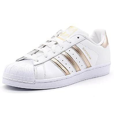 Amazon.com | Adidas Originals Women's Superstar W Fashion Sneaker (Womens 9.5, Rose Gold) | Fashion Sneakers