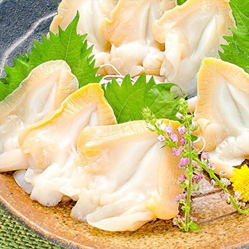 築地の王様 つぶ貝 生つぶ貝 500g 刺身用 寿司用開き 銀座の寿司店も使用