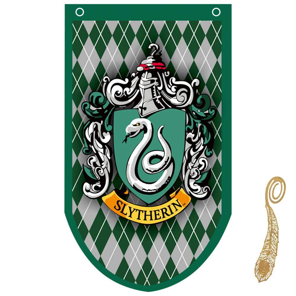 huici Birthday Decor for Harry Flag Potter Banderas Pared de ...