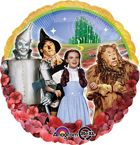 Anagram International Wizard of Oz Group Foil Balloon Pack, 17