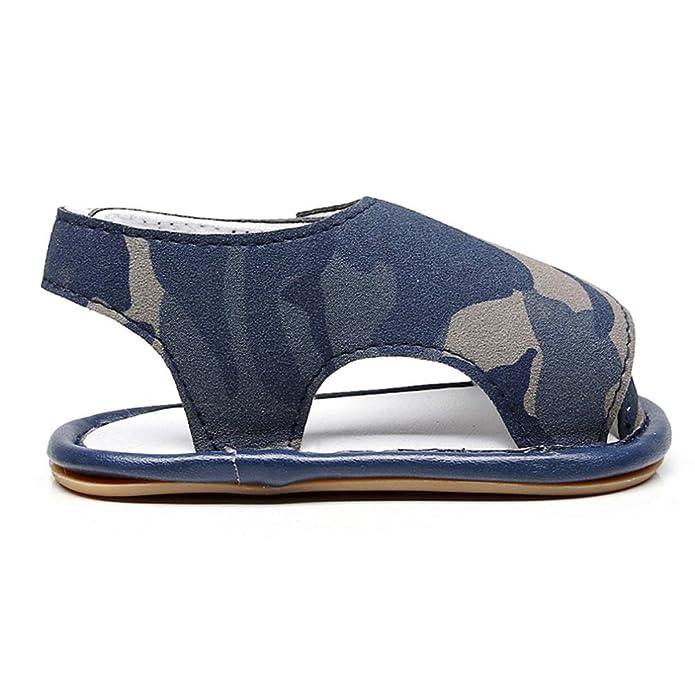 Huhua Sandals For Boys, Sandali bambini, Blu (blu), 3-6 Months