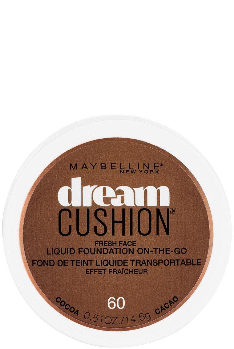 Maybelline New York Dream Cushion Fresh Face Liquid Foundation, Cocoa, 0.51 Ounce