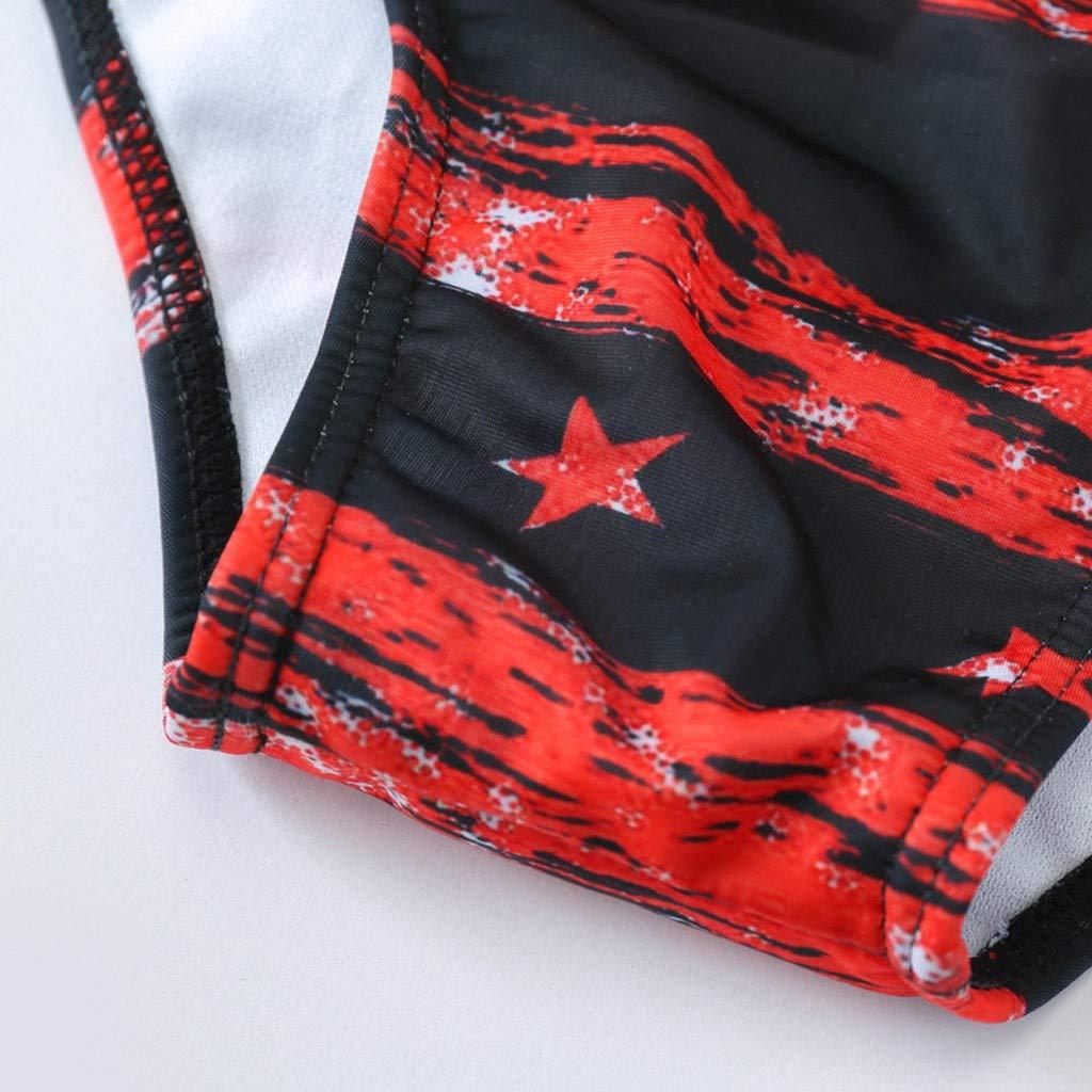 Huaa Fashion Men Breathable Trunks Pants Beach Print Running Swimming Underwear Bikini Flowers Board Shorts
