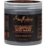 Shea Moisture African Black Soap Clarifying Mud Mask, 6 Ounces