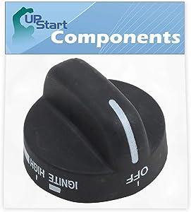 8273103 Range Burner Knob Replacement for Amana Agr5630bds1, Whirlpool Wp8273103, Whirlpool 8273103, Whirlpool Sf368leps0, Whirlpool Sf368leps1, Whirlpool Sf368lepb0, Whirlpool Sf368lepb1