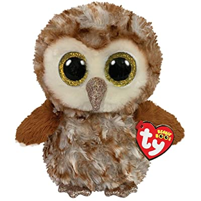 Ty Beanie Boos Percy - barn owl Medium: Toys & Games
