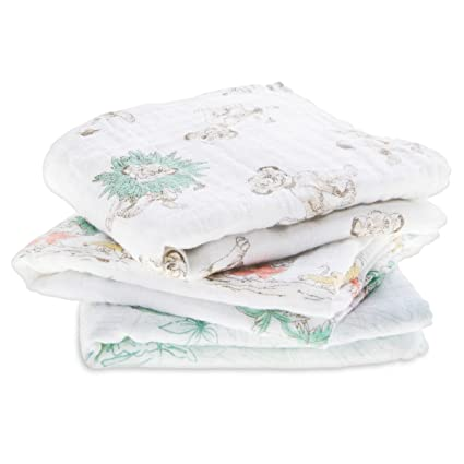 ca4d8201154e aden + anais The Lion King Disney Baby Muslin Squares