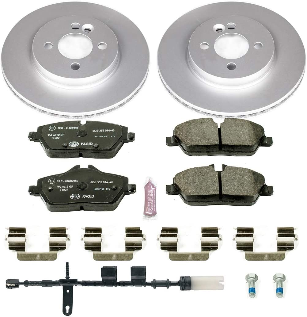 Power Stop ESK5724 Front Euro-Stop Brake Kit