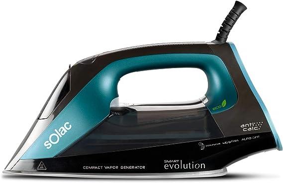 Solac CVG9507 - Centro de planchado compacto, Smart Evolution, 2400 W, auto desconexión, suela Coridium Pro Drive: Amazon.es: Hogar