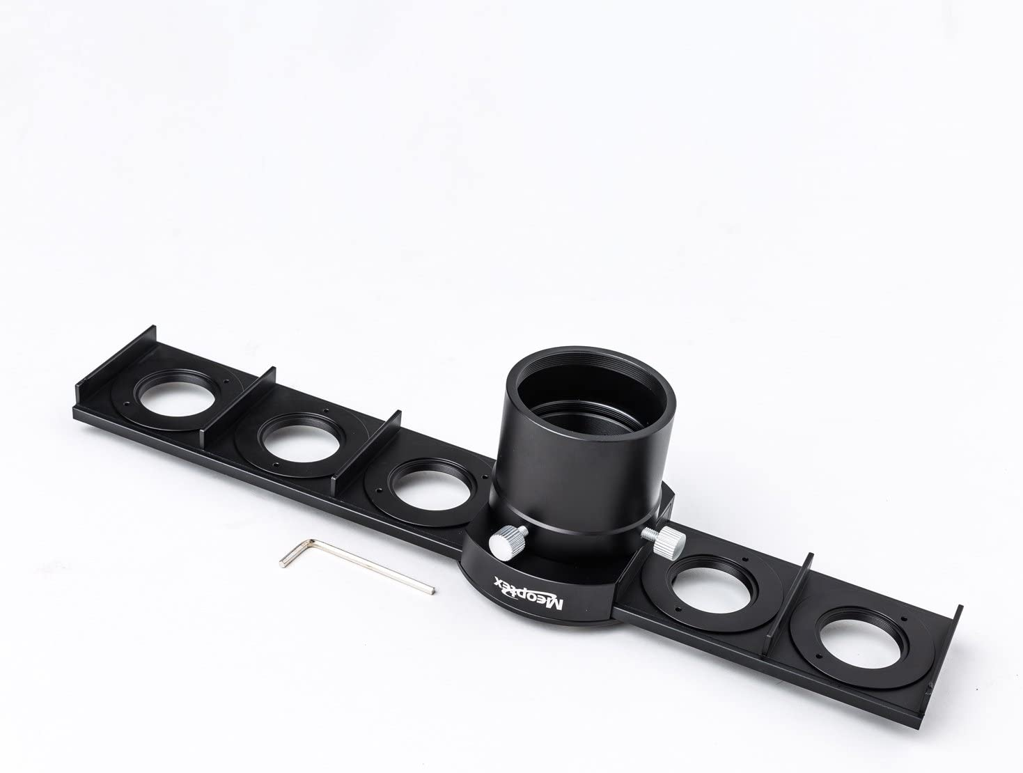 MEOPTEX 6-Slot 2 Filter Slider with six pcs 2 to 1.25 adaptors