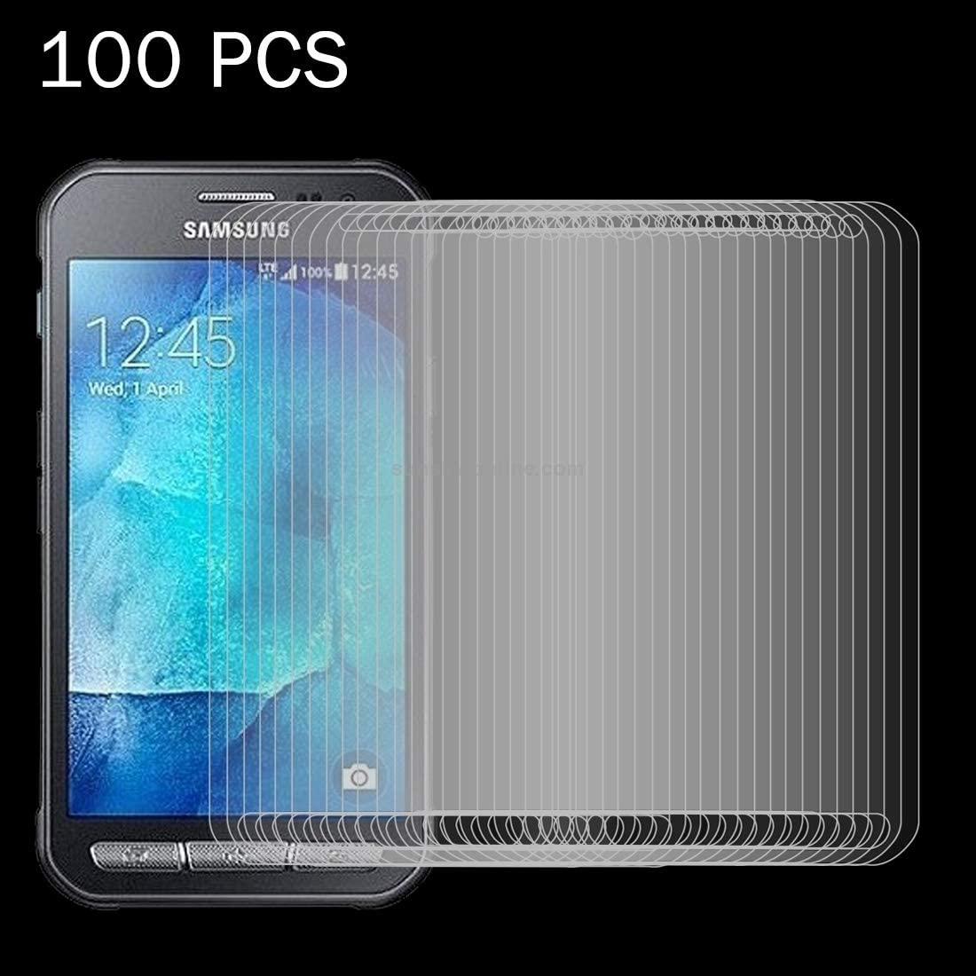 GzPuluz Glass Protector Film 100 PCS for Galaxy Xcover 4 G390F 0.26mm 9H Surface Hardness Explosion-Proof Tempered Glass Screen Film