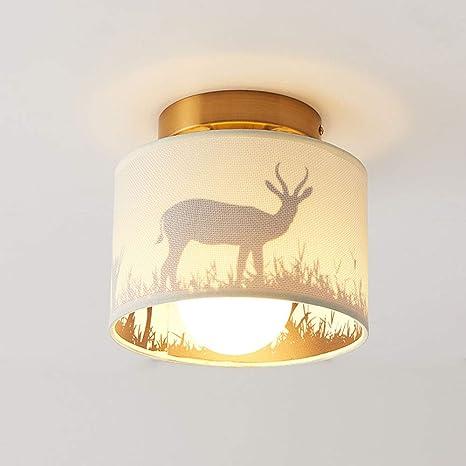 Modernas y simples lámparas americanas lámparas de techo de ...
