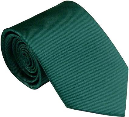 KaiLee - Corbata - para hombre verde oscuro Talla única: Amazon.es ...