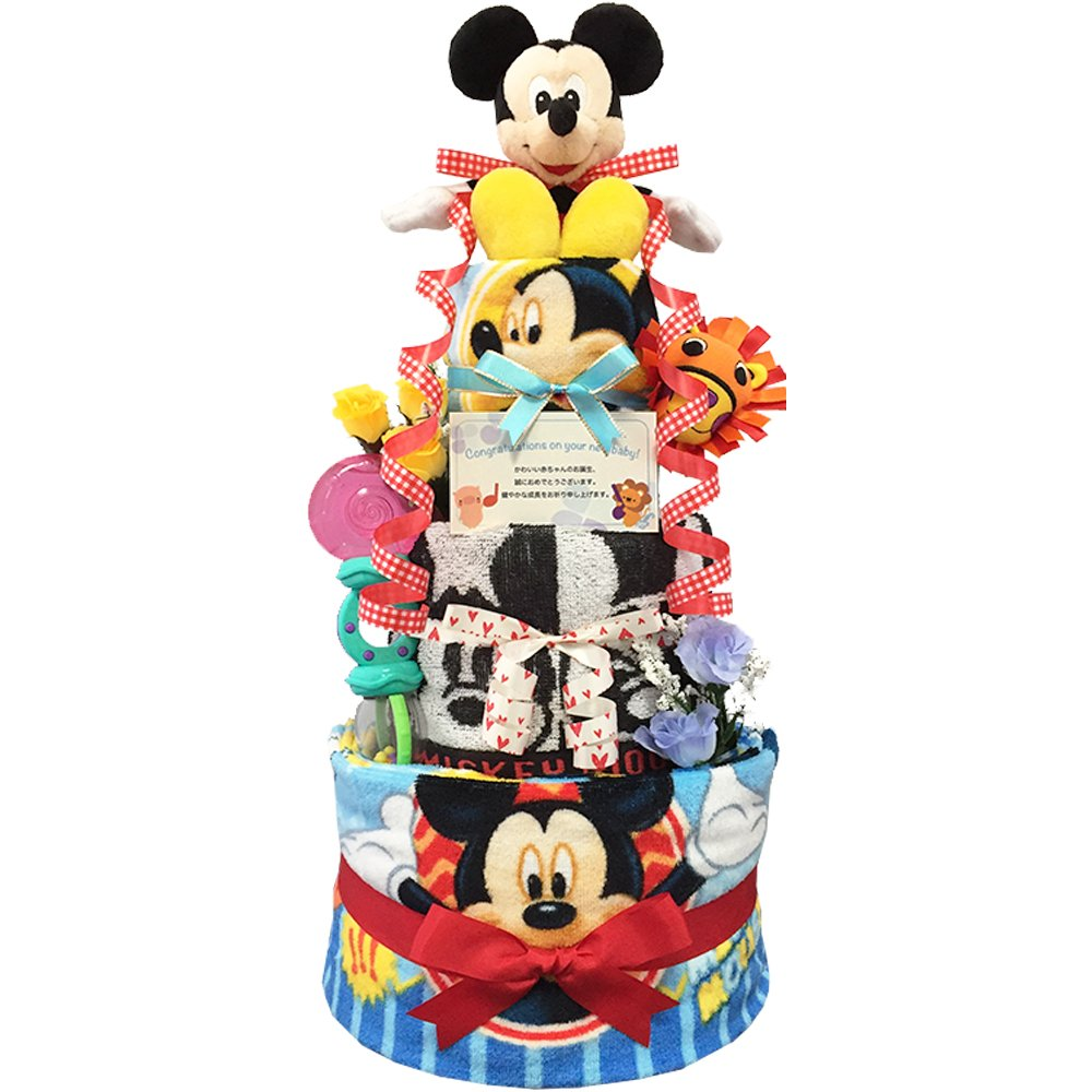 おむつケーキ ディズニー ミッキー 出産祝い 4001(出産祝い) 男の子 3段 4001(出産祝い) 出産祝い Sサイズ(ご出産祝いに) ディズニー B0174BSRG6, KOMEHYO USED WEAR:b962a991 --- ijpba.info