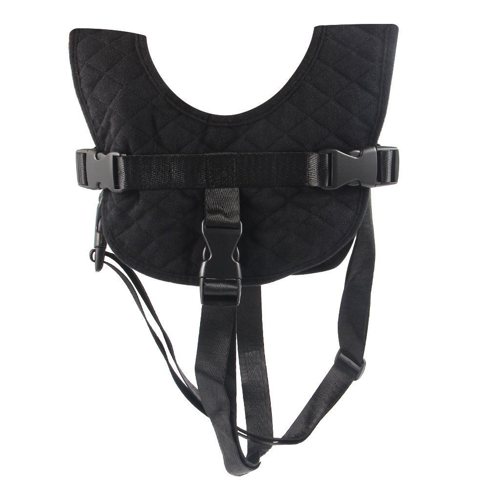 Toddler Flight Vest, Child Airplane Travel Harness Safety Chair Harness Seat Strap - Black