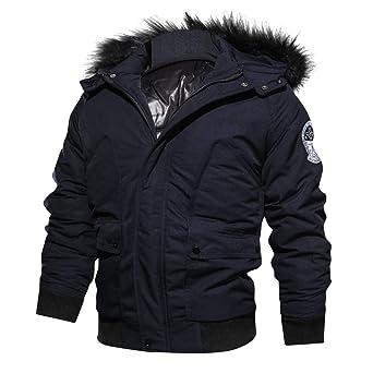 Chaquetas hombre invierno,ZARLE chaquetas moto hombre ropa ...