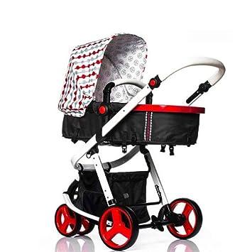 Cochecito De Niños Cochecitos De Bebé Plegable De Aleación De Aluminio Ultra Ligero Puede Sentarse Puede