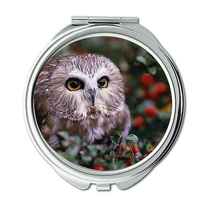 Amazon com: Yanteng Mirror,Travel Mirror,owl City Tour owl