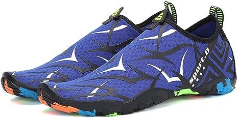 XOVUD Zapatos de Agua Secar Las Zapatillas de Deporte Zapatos ...