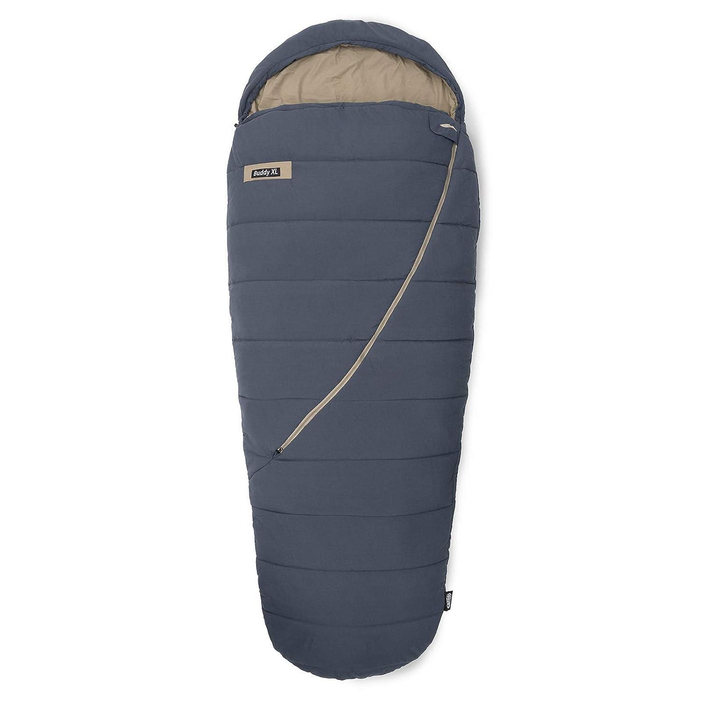 Momia Qeedo Buddy XL Saco de Dormir Grande Extra Ancho y Largo Adulto