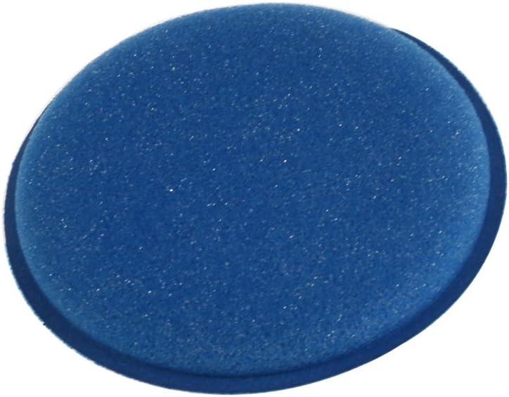 Agger Auto Schaum Wachsen Pads Schaum Applikator Pad Fahrzeug Farbe Polieren 4 Zoll Dia Blau Pack Von 12 Auto