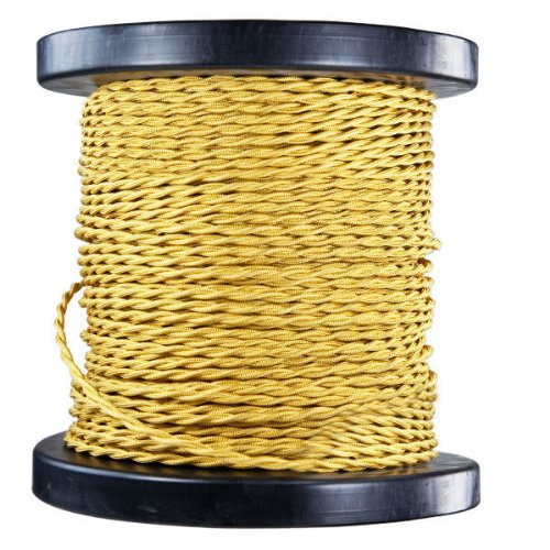 250 ft. Spool - Rayon Antique Wire - Bronze - 20 Gauge - Twisted Cord by PLT
