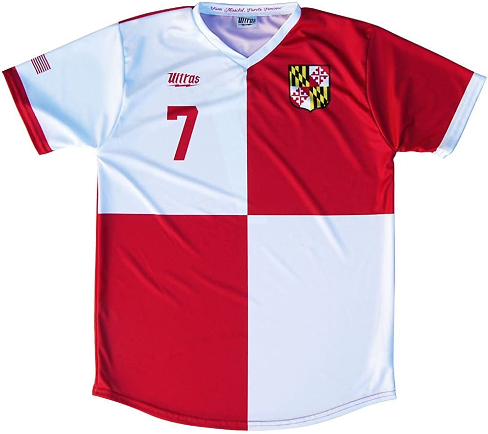 White Red XX-Large Texas State Cup Soccer Jersey Navy