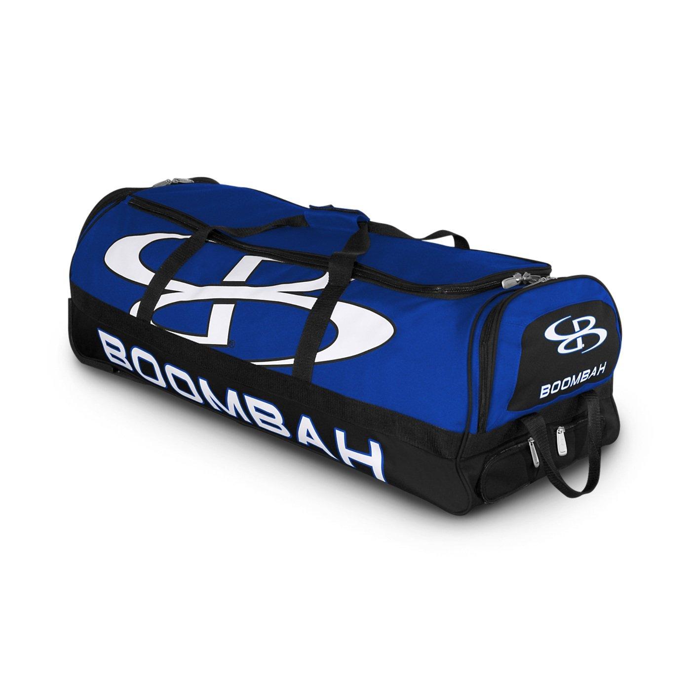 (ブームバー) Boombah Bruteシリーズ キャスター付きバットケース 野球ソフトボール用 35×15×12–1/2インチ 49色展開 4本のバットと用具を収納可能 B01N1HTRQI ロイヤル/ブラック ロイヤル/ブラック