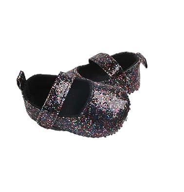 Amazon.com: Baby Girl Moccasins Princess Sparkle Premium Lightweight Soft Sole Prewalker Toddler Shoes: Shoes