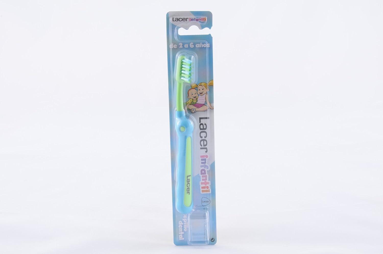 Lacer - Cepillo de Dientes Infantil Lacer 2-6 años: Amazon.es: Salud ...
