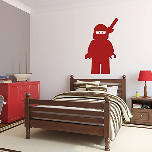 Lego Ninjago Wall Decal   Children Bedroom Decor, Lego Ninjago Party  Supplies, Kids Playroom