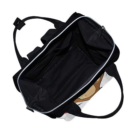DEYYA Women Large Tote Bag Wild Animal Kangaroo Shoulder Handbags Satchel Messenger Bags for Ladies