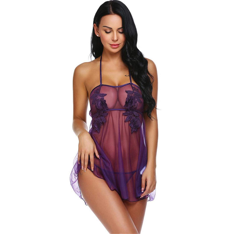 69796fa5a Amazon.com  Teddy Underwear Lace Babydoll