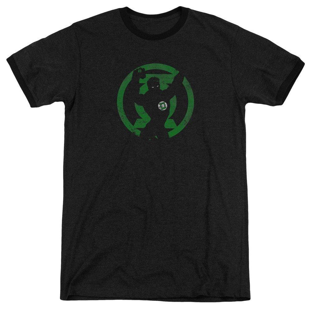 Shirt XL Gl Symbol Knockout Adult Ringer T Dc