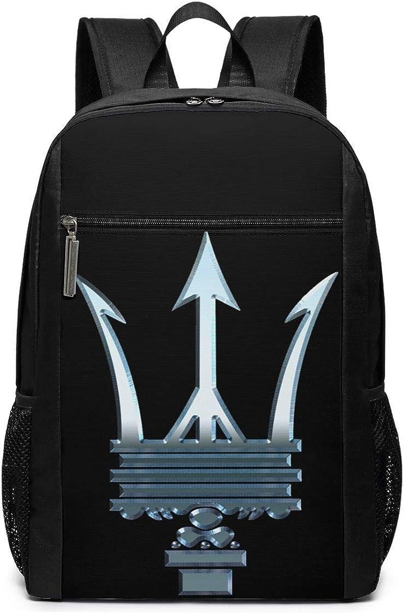 B082FB4LDY Syins Maserati Logo Schoolbag,17 Inch Outdoors Knapsack For Men And Women 61CxfXqxHmL