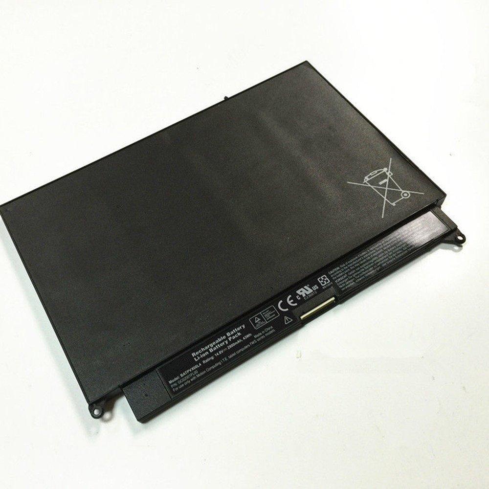 HWW New 14.8V 43Wh 2900mAh BATPVX00L4 Battery for Motion Computing I.T.E. tablet FWS by HWW