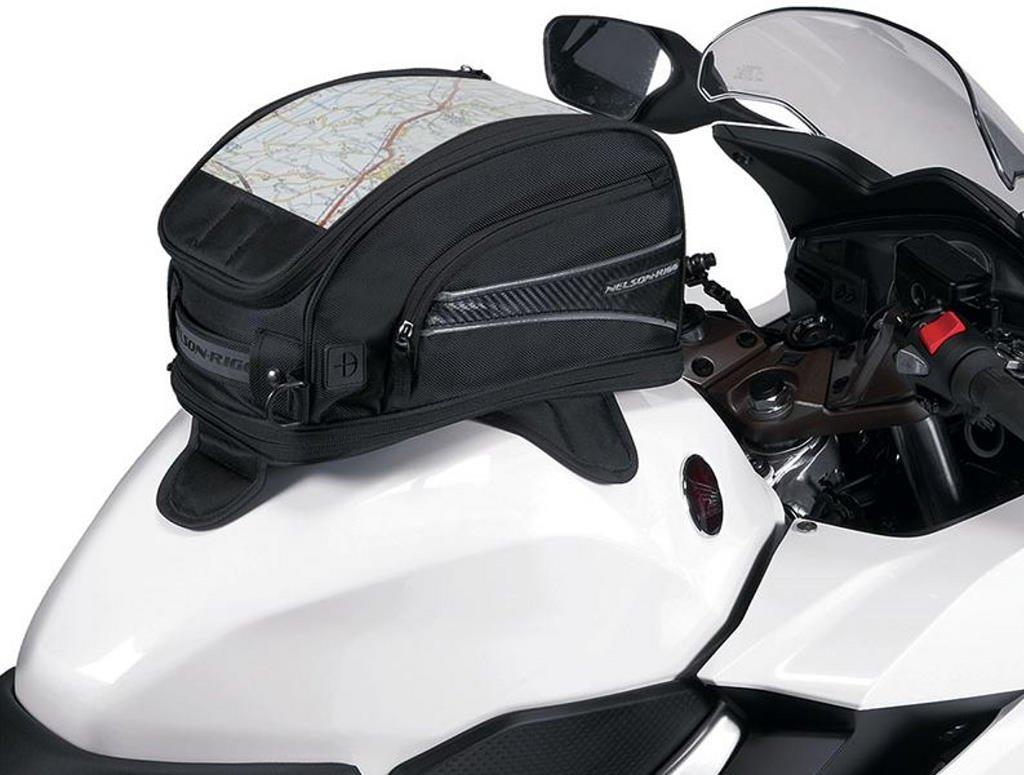 Nelson Riggs CL-2015 Journey Sport Magnetic Tank Bag Black 13.42 Liter