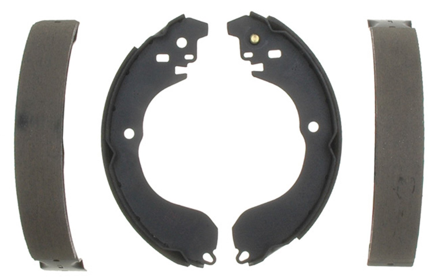 ACDelco 17919B Professional Bonded Rear Drum Brake Shoe Set